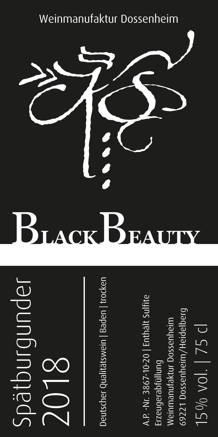 Spätburgunder B – BlackBeauty