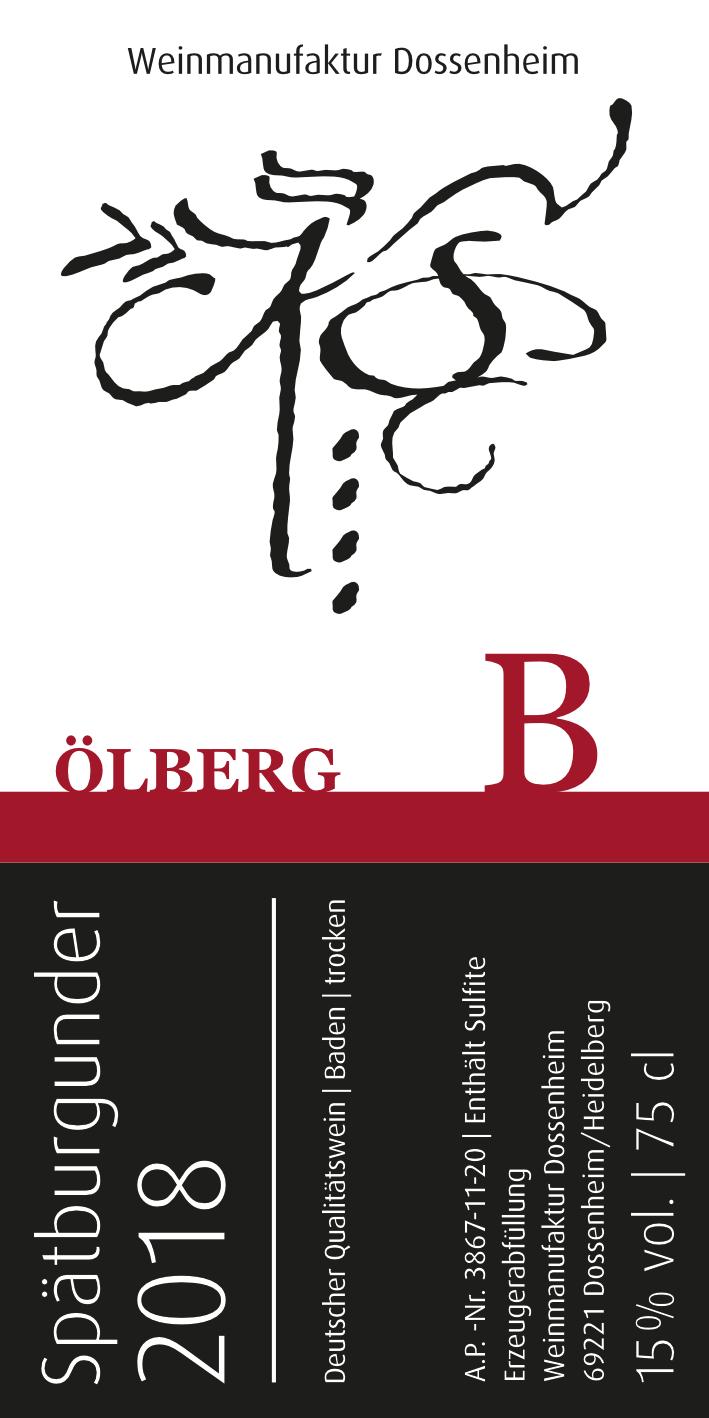 Spätburgunder B – Ölberg